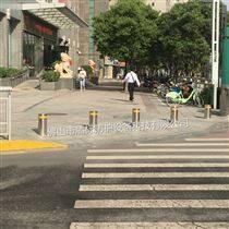 黑龍江智能路柱 可伸縮路樁 固定升降地樁