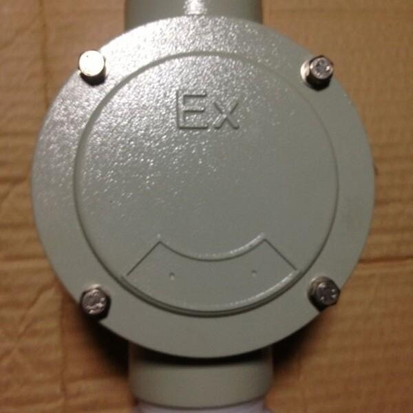 BHD51-G3/4防爆三通平接线盒