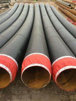 聚氨酯预制直埋热水保温管地埋发泡管道价格