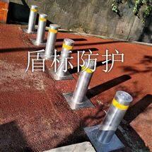 DB不锈钢半自动升降柱 道路隔离防撞柱路障