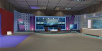 4K真三维效果虚拟演播室系统设备