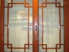 8*18玻璃门装饰格条图片_中空玻璃装饰条效果图