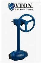 进口煤气焊接球阀 美国威盾品牌