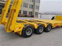 外貿出口企業120噸重型低平板側翻自卸掛車