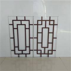 中空玻璃窗花装饰条产品