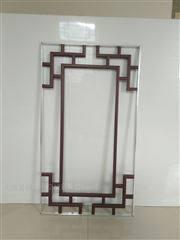 8*18中空玻璃仿古装饰条图案设计