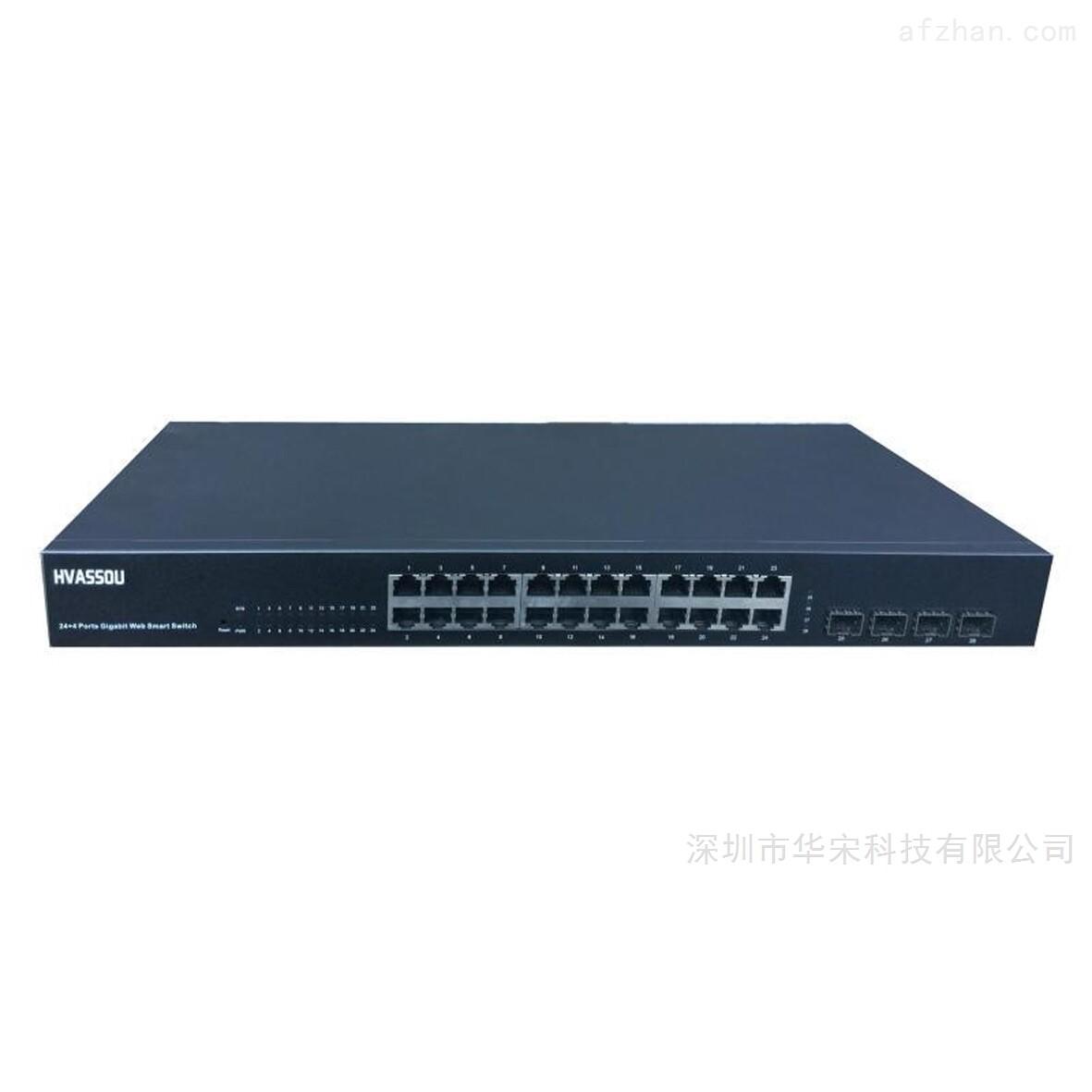 SGW2804-全千兆4光24电环网交换机