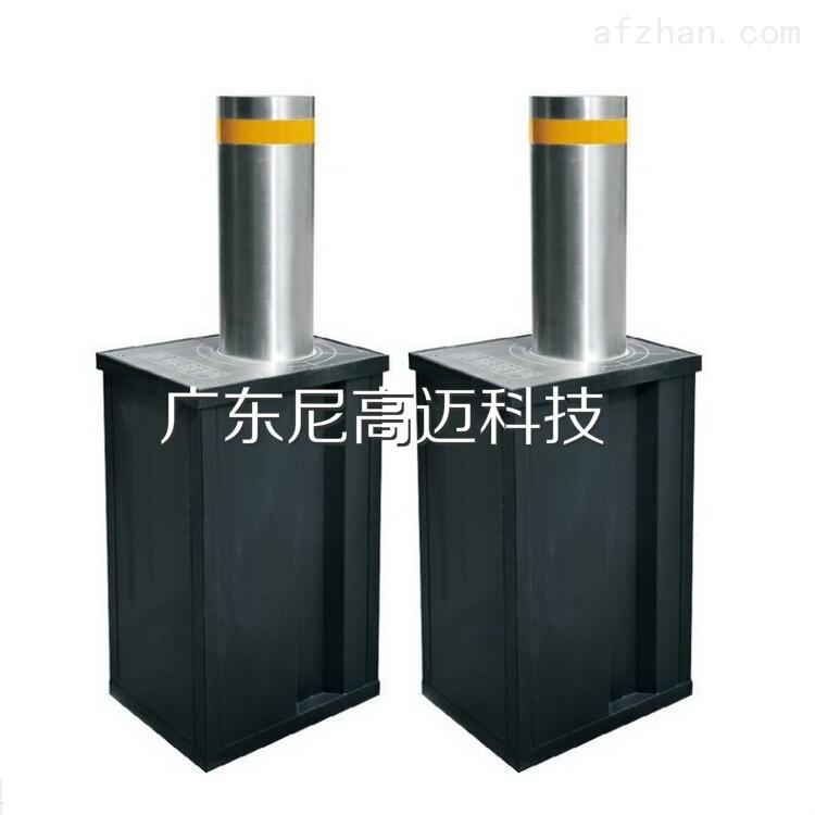 升降停车柱 液压分体式阻车路障柱