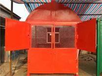 矿用防火栅栏两用门和利隆厂家安装图