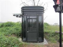 「烏海崗亭」鋼結構崗亭的特點