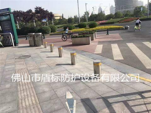 上海遥控电子桩 自动伸缩拦车柱防撞升降庄