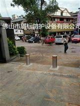 停车场遥控自动升降柱,挡车电动挡车柱