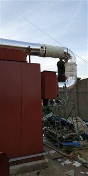 通风管道橡塑保温工程安装队