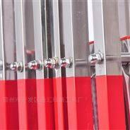不銹鋼伸縮圍欄防護欄幼兒園移動圍欄