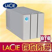 9000438ASLaCie 二盘位 磁盘阵列  8T雷电二代8TB