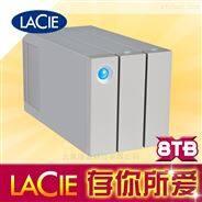 LaCie 二盤位 磁盤陣列  8T雷電二代8TB