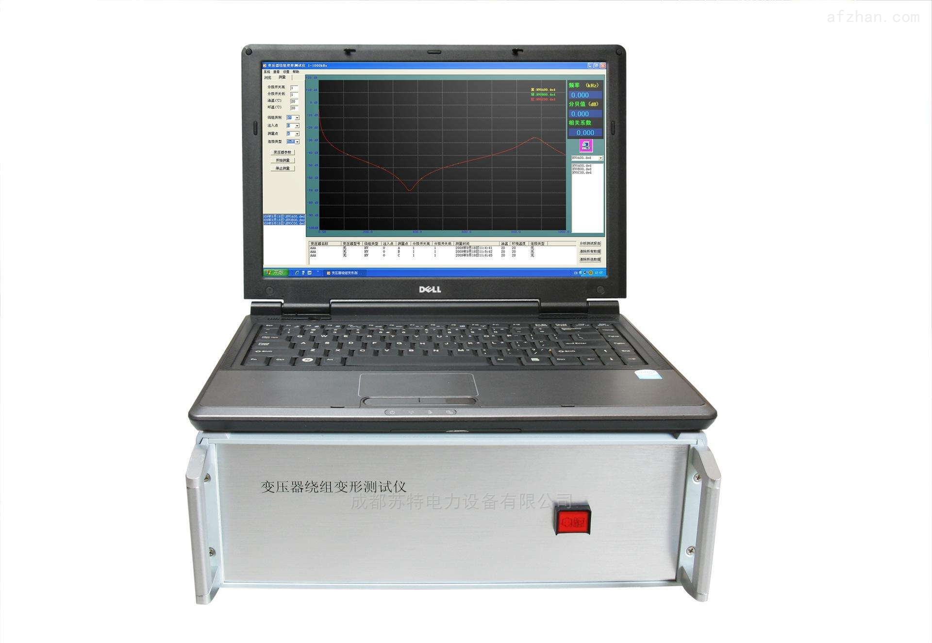 三级承试设备|变压器绕组变形测试仪