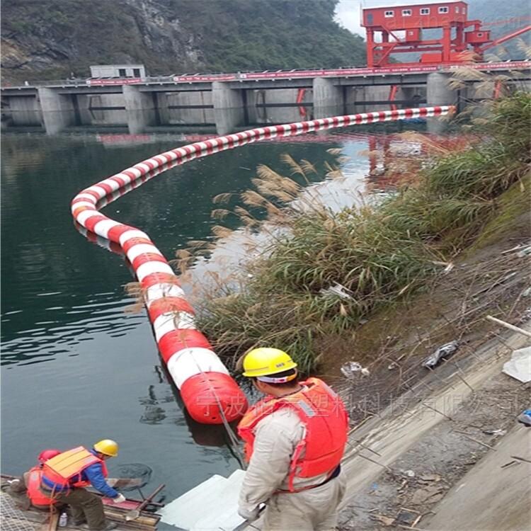水电站拦污漂塑料浮筒厂家