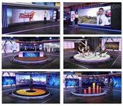 北京高清虚拟演播室主持人融媒体素材模板