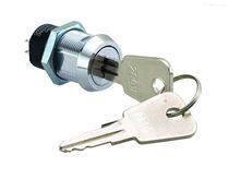 2801 19MM电源锁 台湾钥匙开关锁