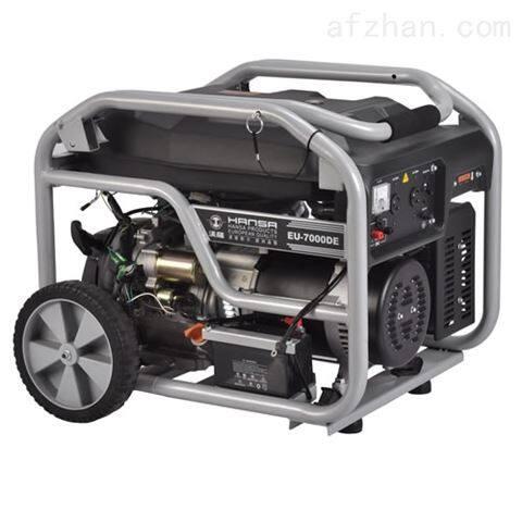 进口6KW汽油静音220V发电机