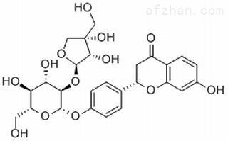 甘草苷元-7-O-D-芹糖-4'-O-D-葡萄糖苷