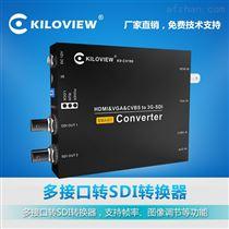千视电子HDMI转SDI信号转换器,帧率转换