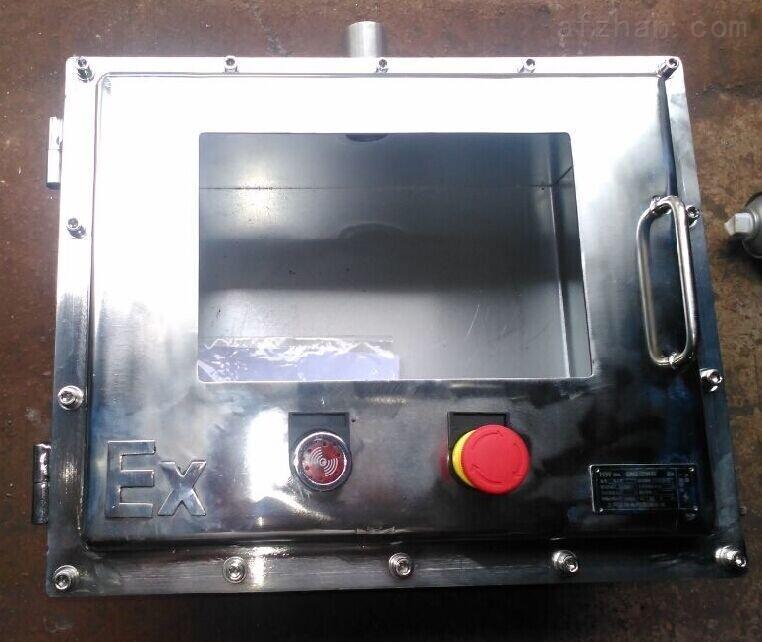 双层门防爆仪表控制箱带观察口