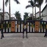 工地施工安全隔離維護可移動塑料護欄