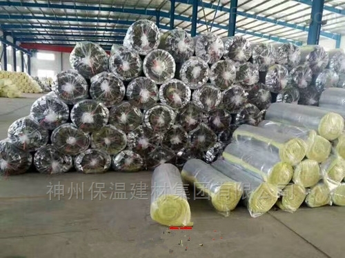 23kg75m厚抽真空玻璃棉丝卷毡出厂价