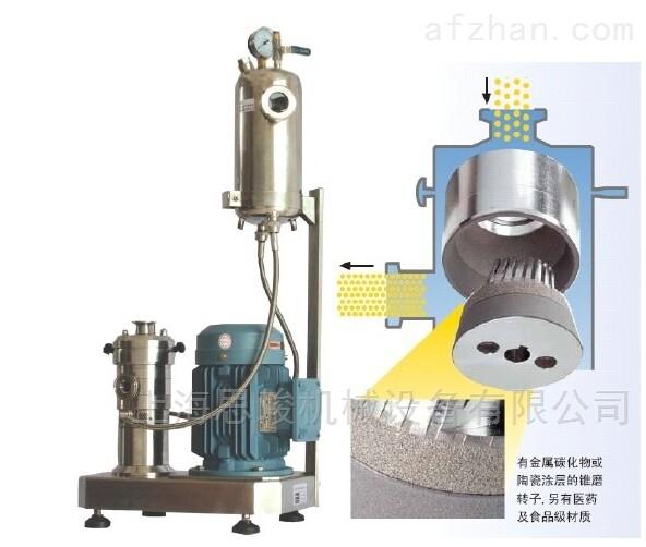 生物质胶原基质胶研磨分散机