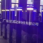 交通隔离升降柱防恐止车路桩带LED灯