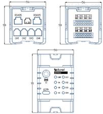 ADW400-D10/3S安科瑞环保用电监测模块