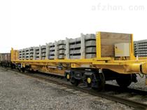 軌道式超低牽引平板拖車報價及廠家直銷