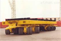 150吨重型搬运平板拖车 牵引车辆  平板车拖