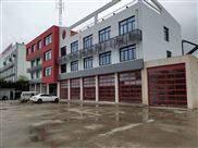 常州具备联动功能消防红色的消防车库门