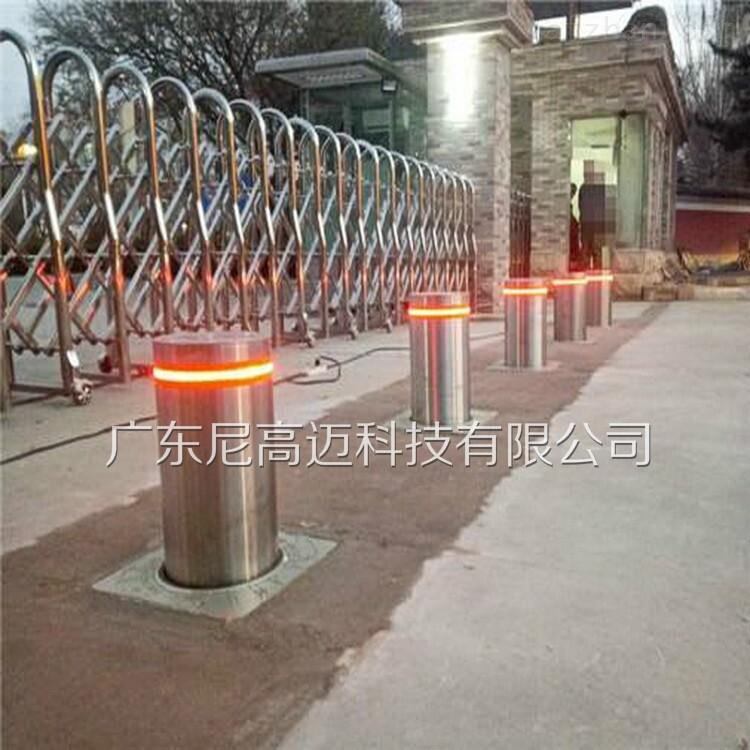 不锈钢防恐伸降柱路障 自动升降柱
