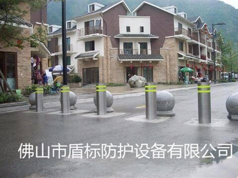 不锈钢警示安全路桩 全自动液压地桩