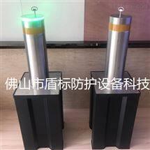 DB东莞可升降手动隔离桩 半自动液压伸缩柱