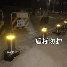 DB广西手动升降式拦路桩 大门阻挡隔离防撞柱