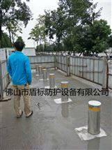 DB优质防撞升降地桩,公园隔离阻车柱