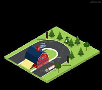 智能弯道会车预警系统