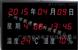 公检法温湿度显示屏 HS-600LP