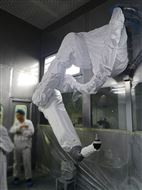 喷丸机器人防护服_防尘耐磨服,厂家直供
