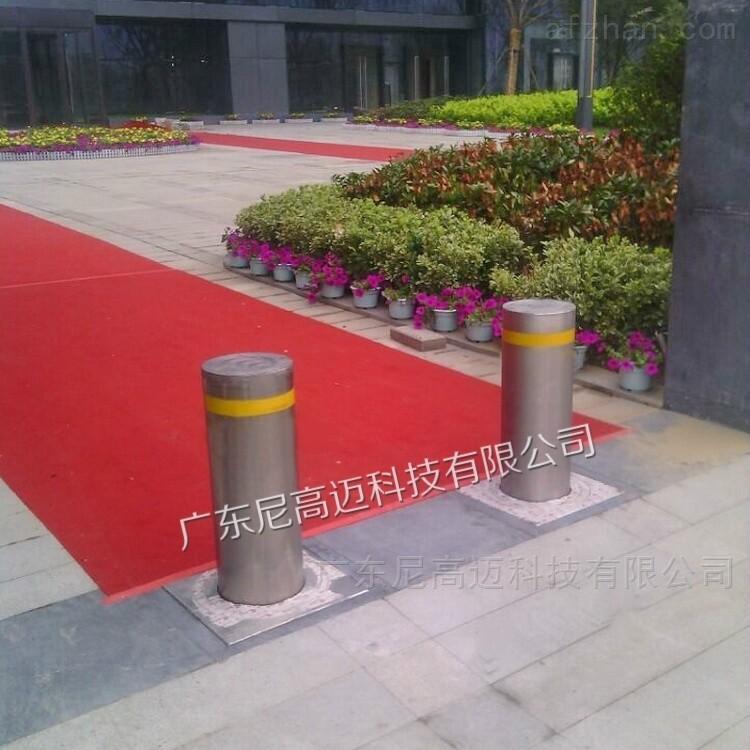 水泥厂不锈钢管伸缩式自动挡车路桩