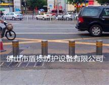 DB东莞街道地埋式伸缩路桩电动液压防撞升降柱