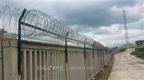 铁路防护栅栏加高网片