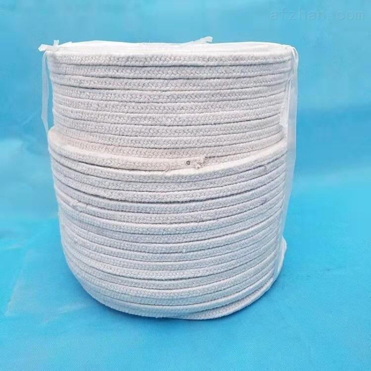 炉门陶瓷纤维盘根耐高温纤维绳