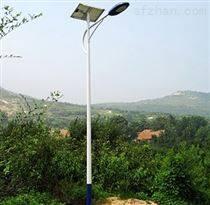 張家口農村6米太陽能路燈小區安裝價格