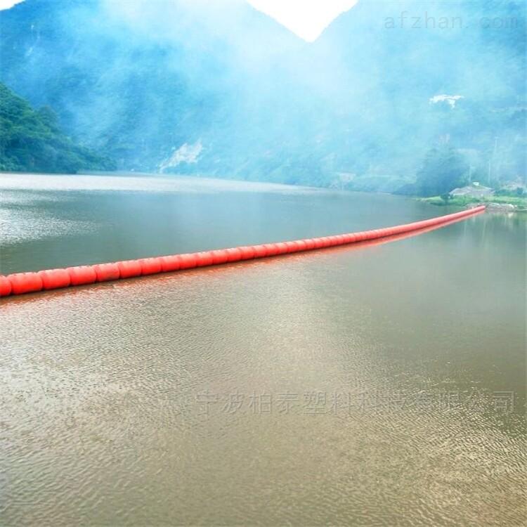 四川水电站拦污漂塑料圆柱浮筒